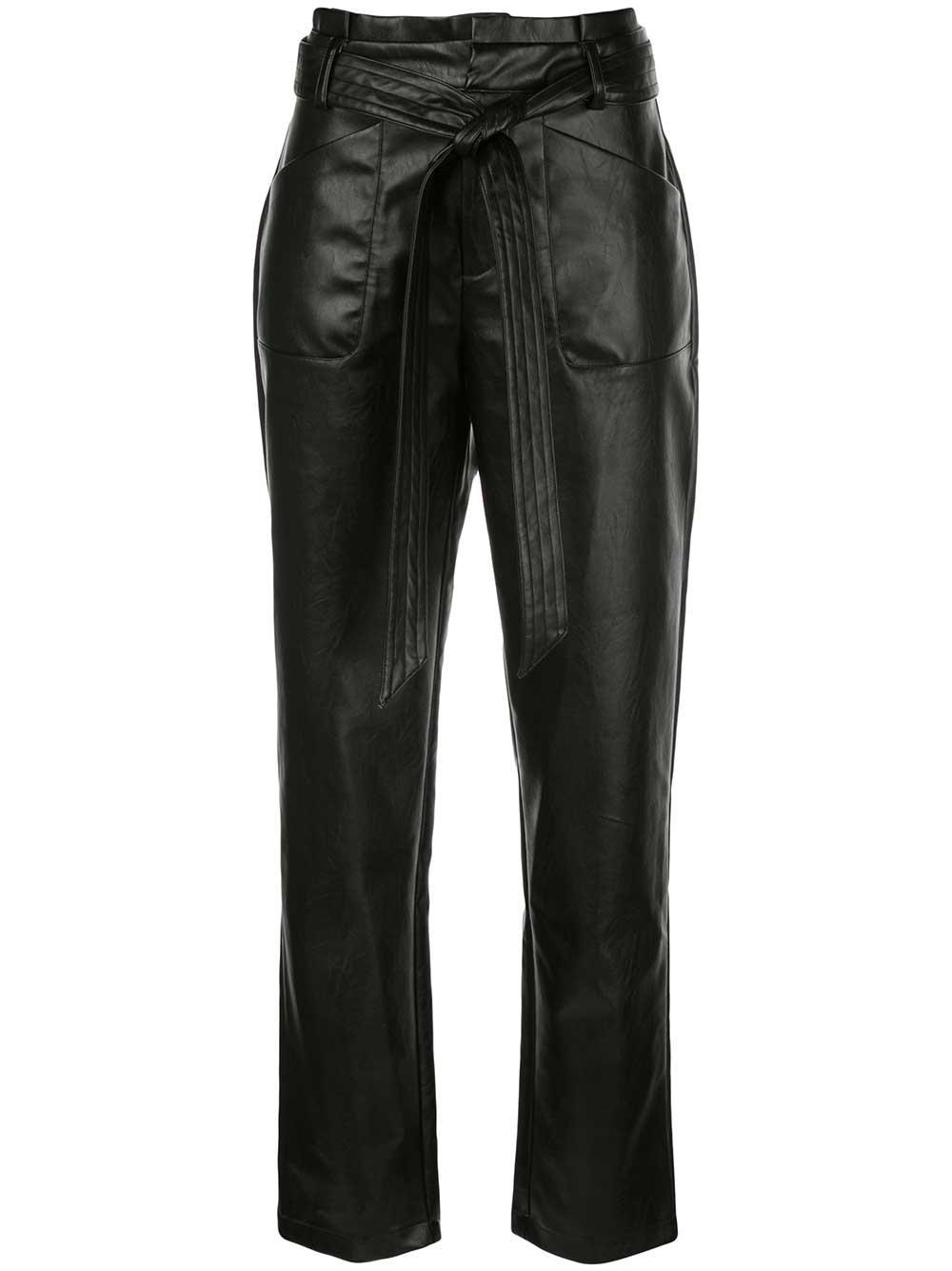 Castile Faux Leather Pant Item # A41906075775