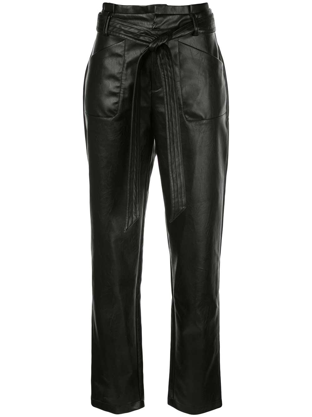 Castile Faux Leather Pant