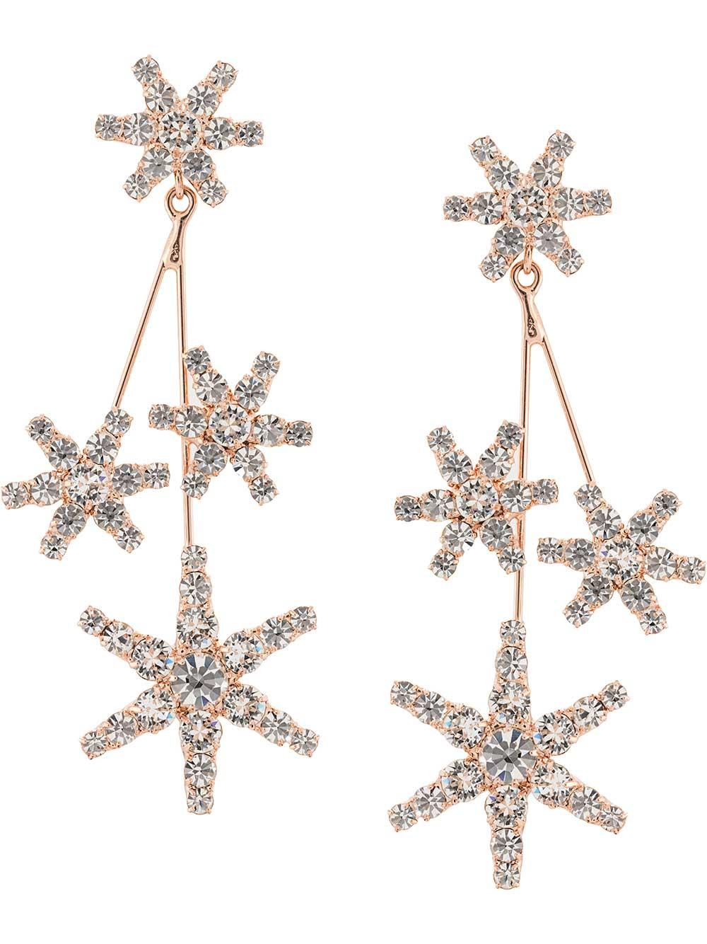 Saros Star Earrings