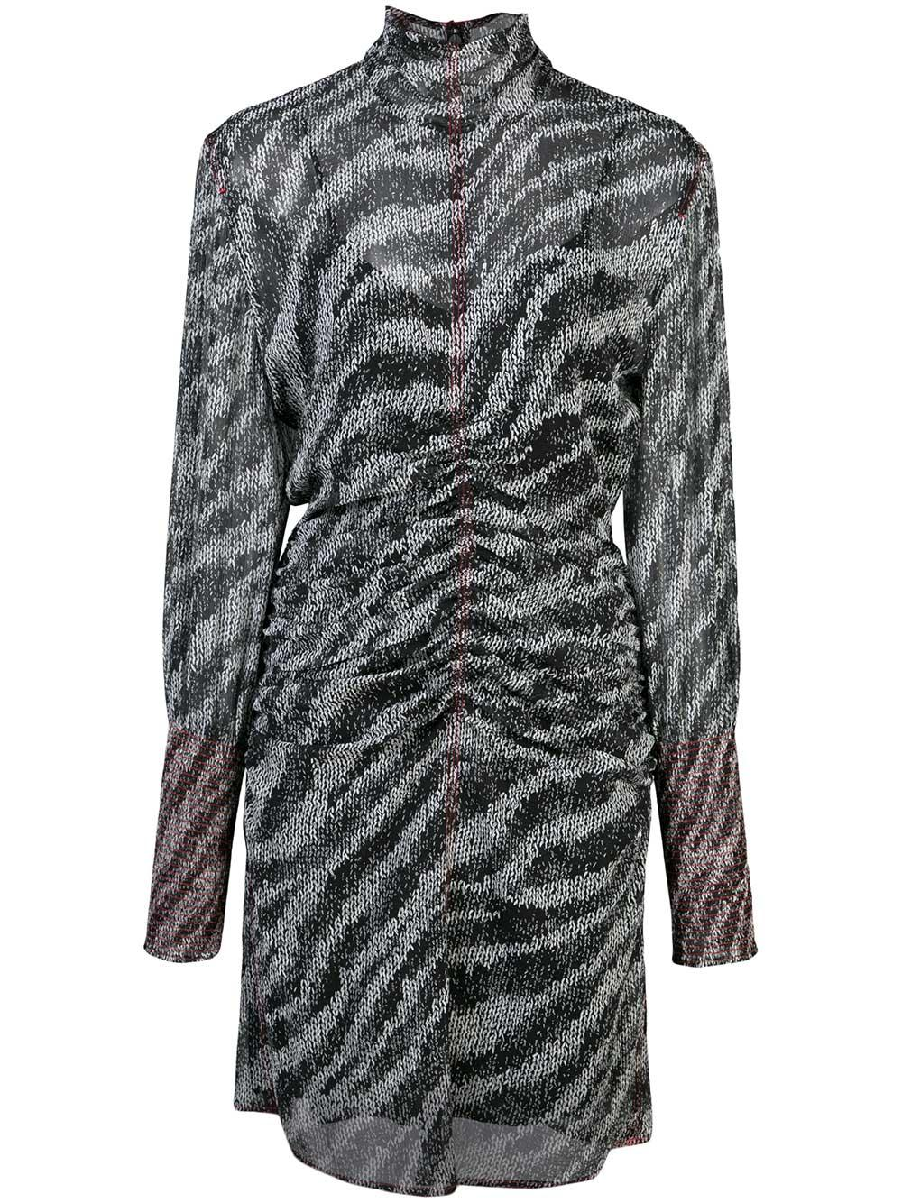 Maris Zebra Mini Dress