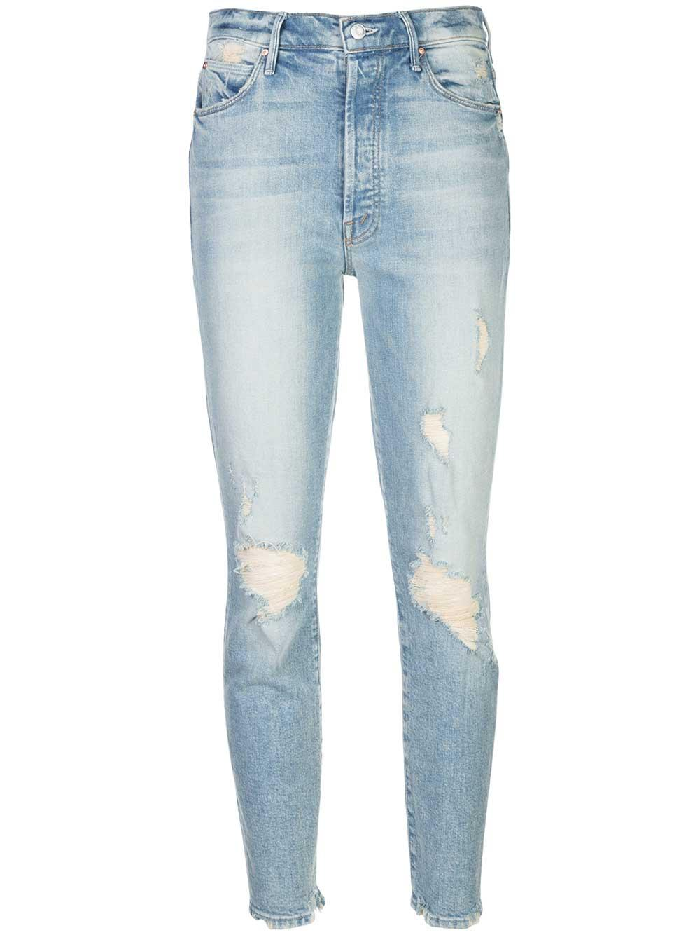 The Super Stunner Rigid Ankle Distressed Jean