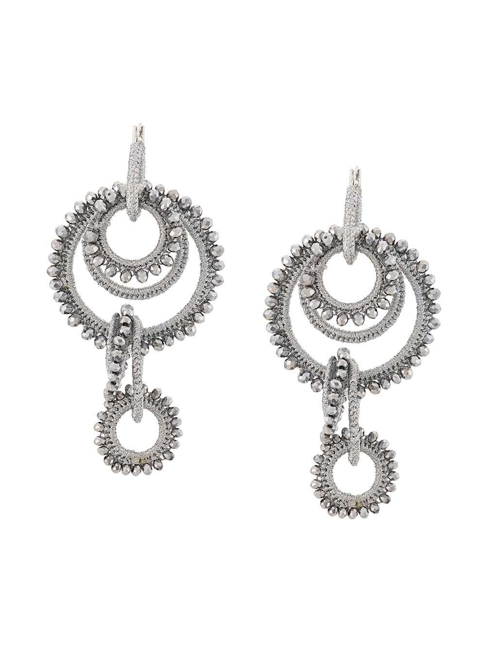 Tallulah Multi Ring Earrings
