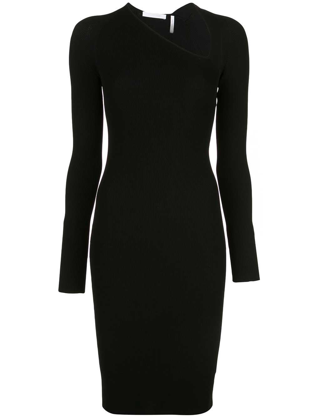Raglan Long Sleeve Viscose Dress Item # J09HW714
