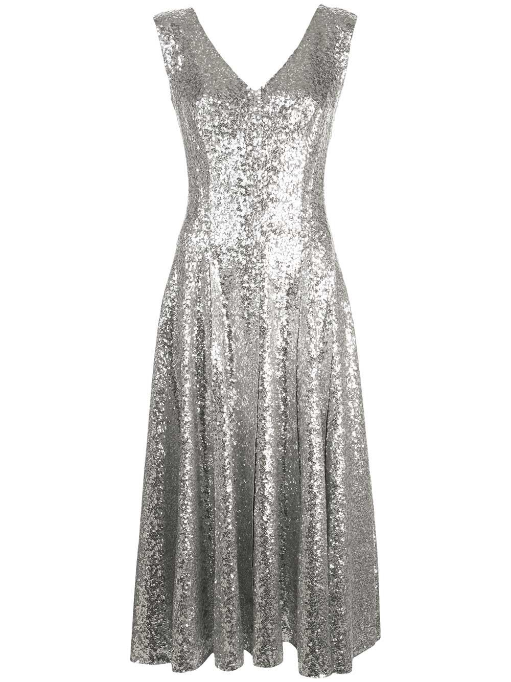 Overlapping Sequin Grace Dress Item # ST4293SQ160449