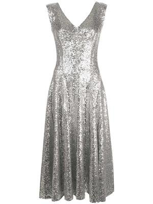 Overlapping Sequin Grace Dress