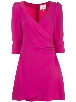 Theo Wrap 3/4 Sleeve Dress