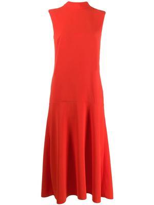 Sleeve Less Midi Dress