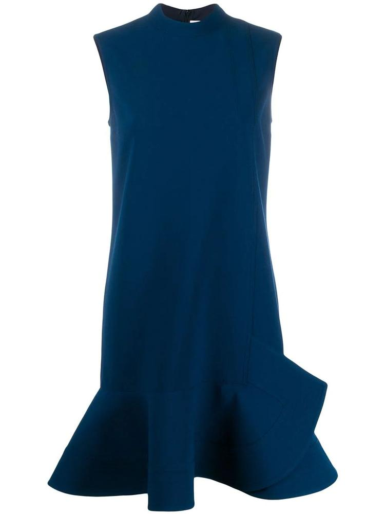Sleeve Less Peplum Hem Dress Item # 2120WDR000767A