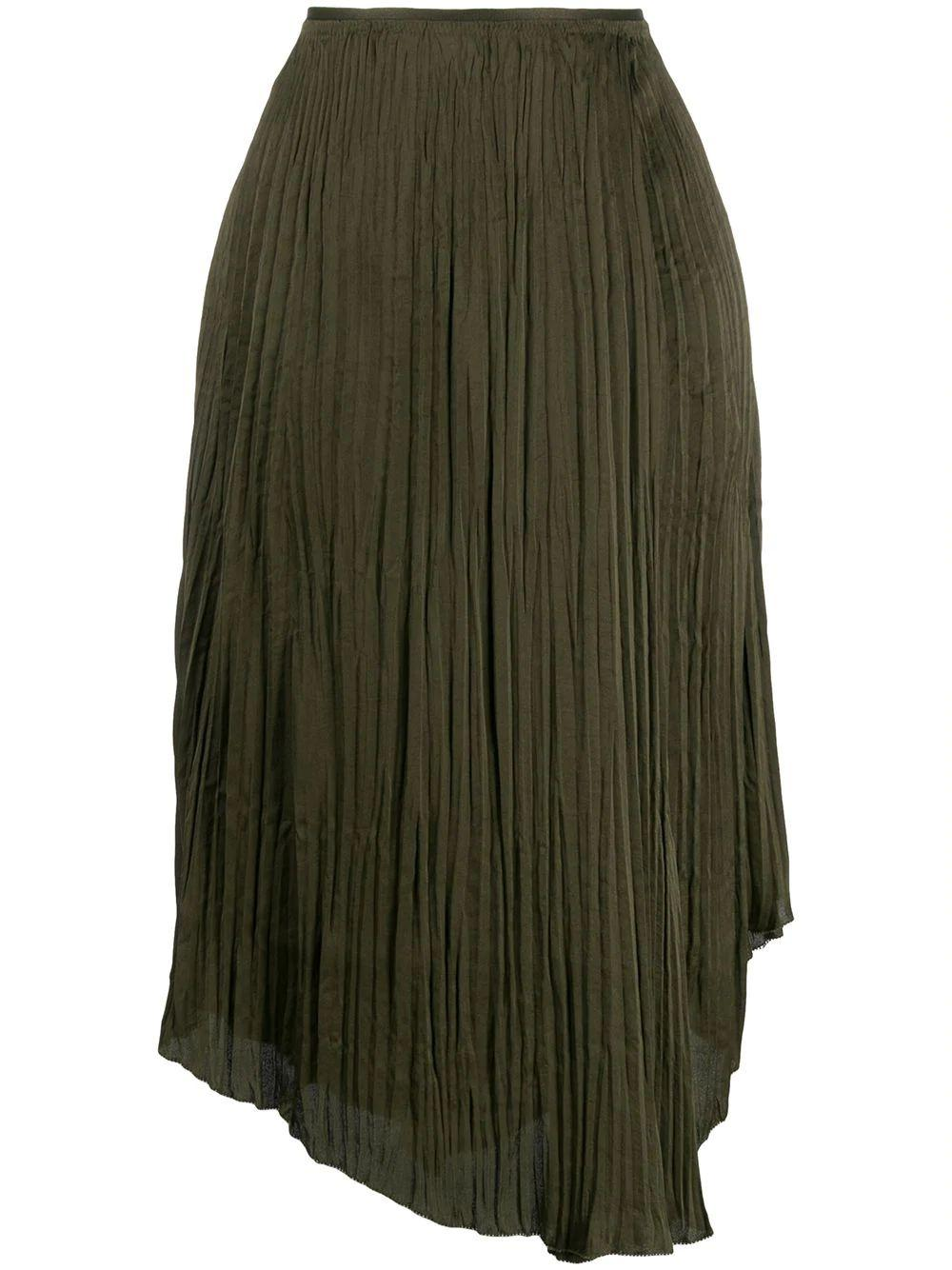 Crushed Drape Skirt