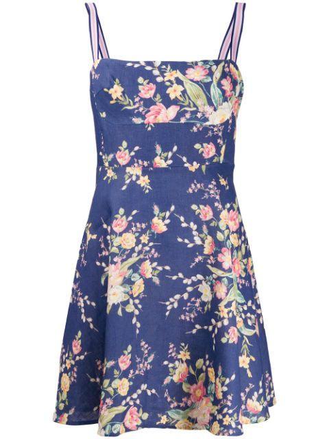 Zinnia Strap Mini Dress
