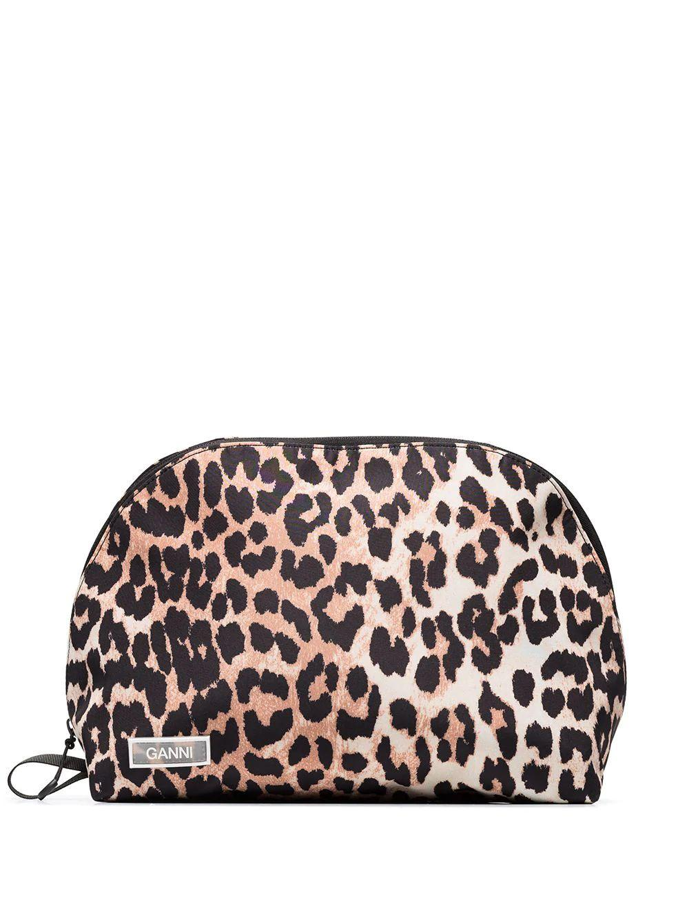 Leopard Zip Pouch
