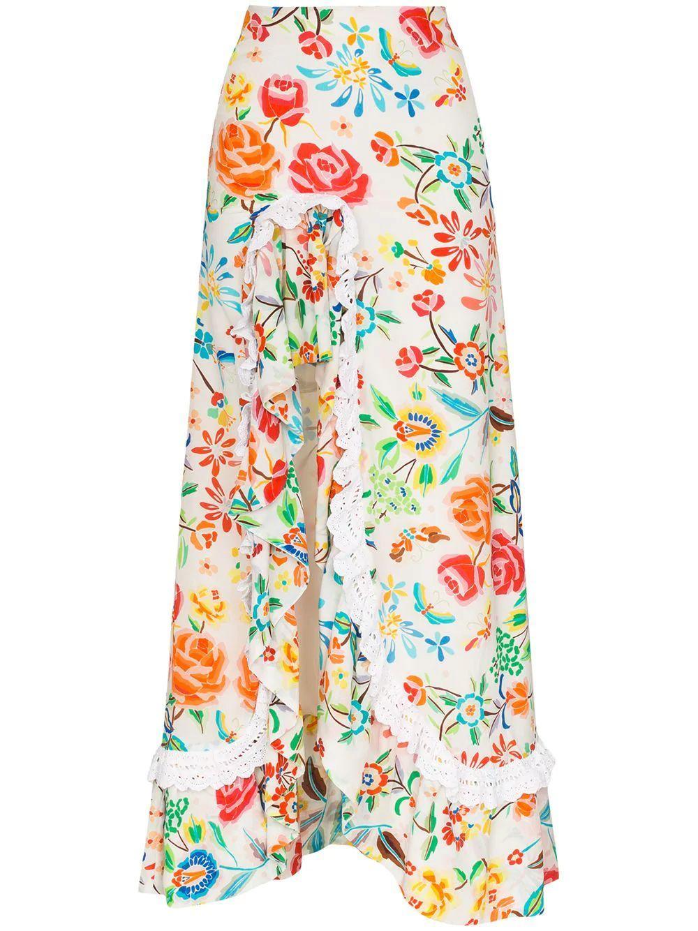 Clara Floral Skirt