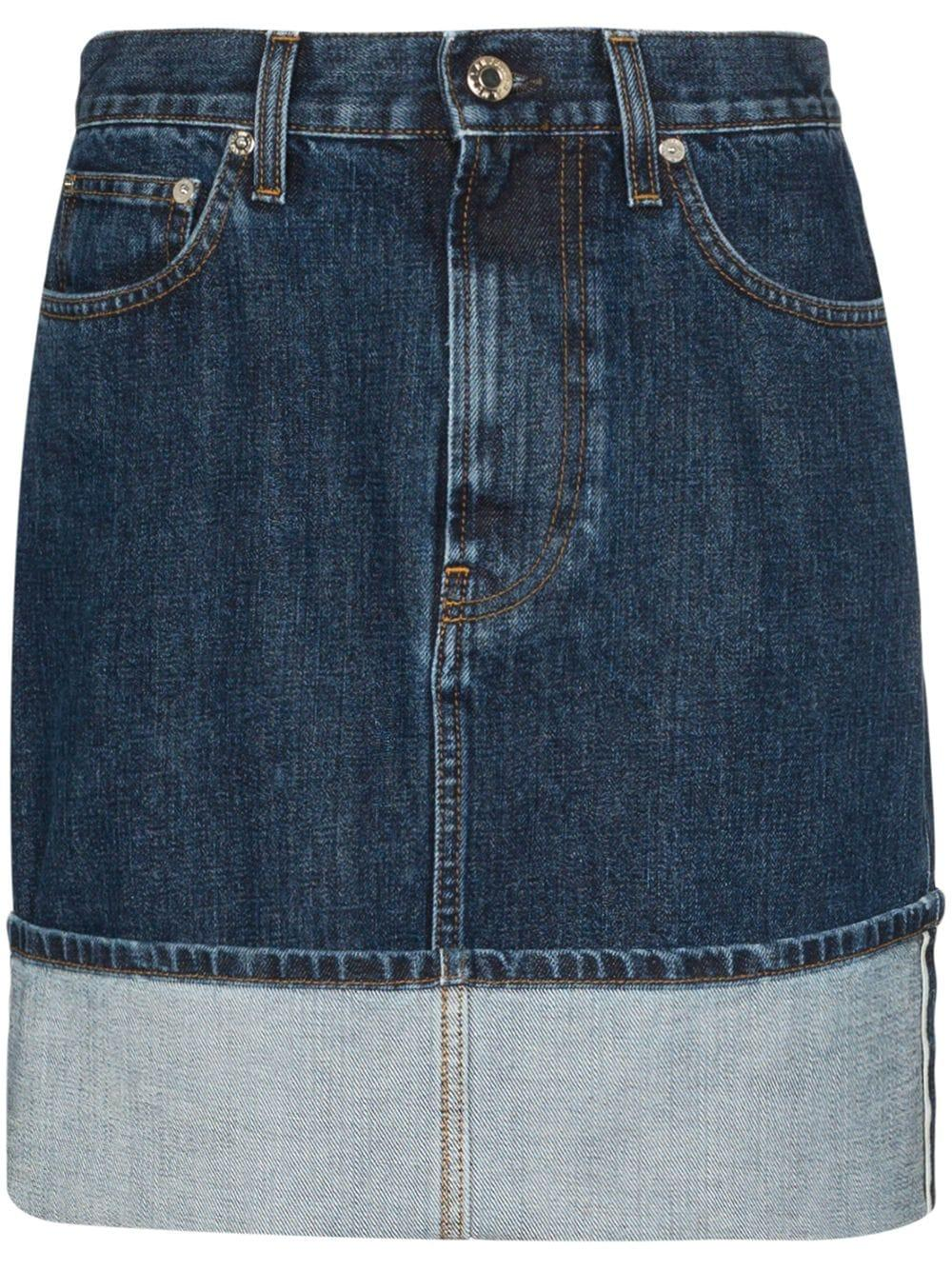 Femme High Denim Mini