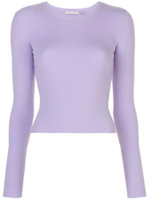 Ciara Long Sleeve Cropped Pullover
