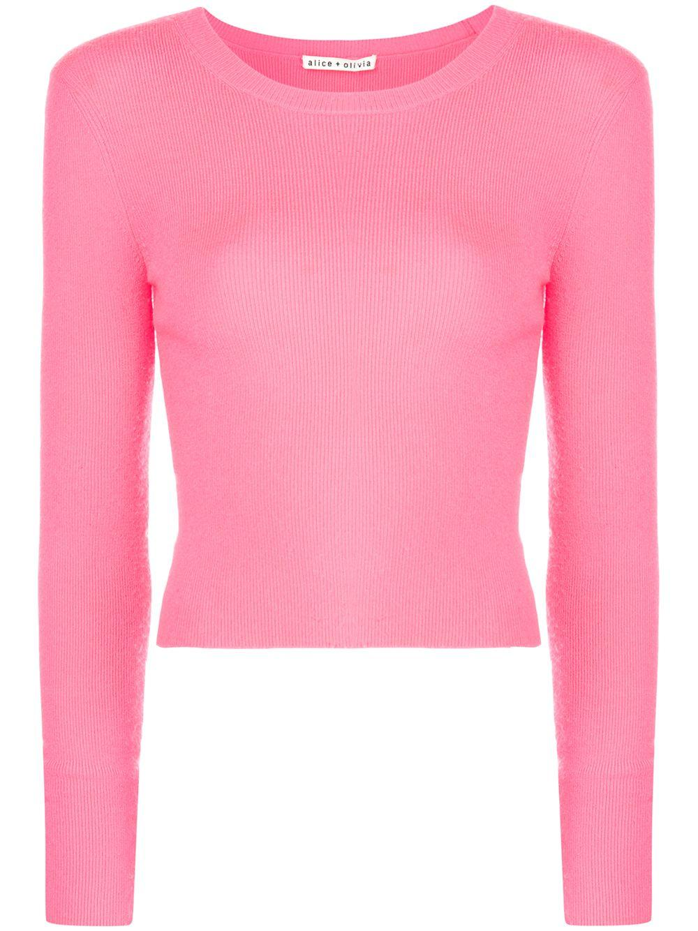 Ciara Long Sleeve Cropped Pullover Item # CC911S15704