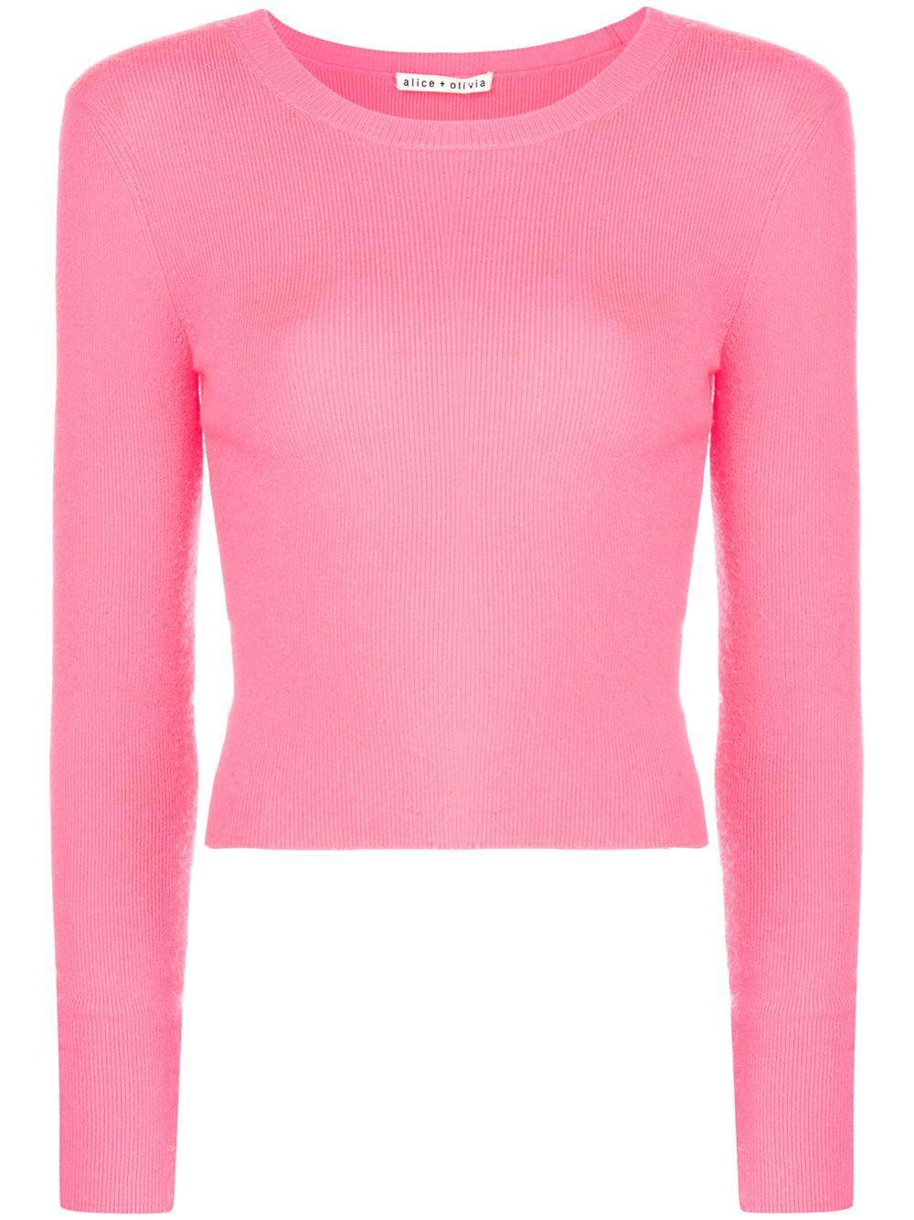 Ciara Long Sleeve Cropped Pullover