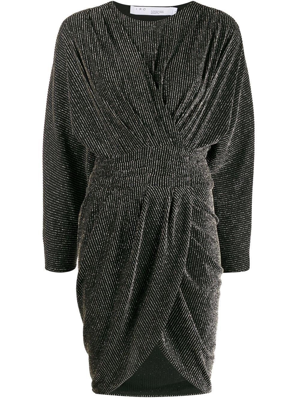 Magnus Long Sleeve Lurex Dress Item # 20SWP33MAGNUS-C