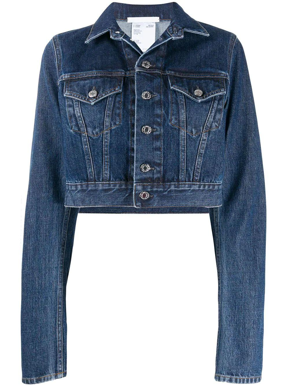 Femme Denim Little Trucker Jacket