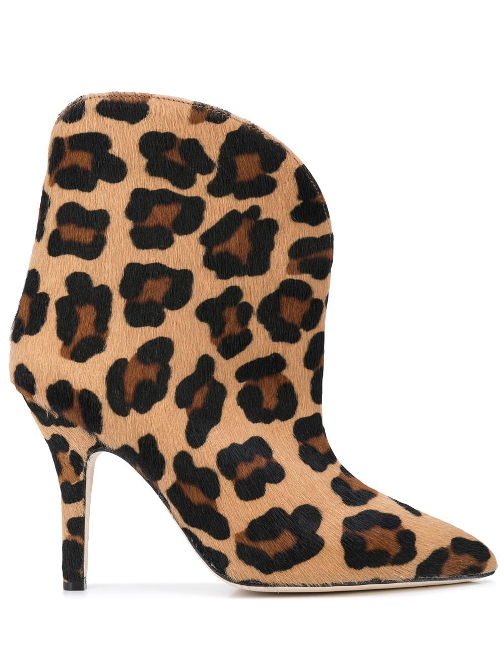 Pony Ankle Boot With Stiletto Heel