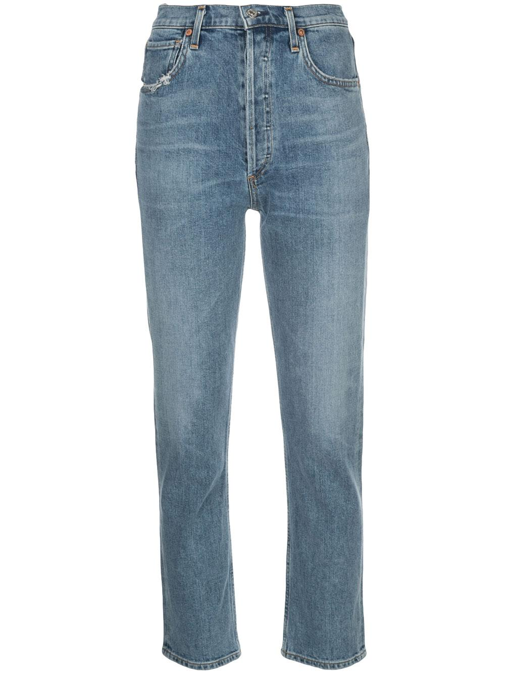 Charlotte High Rise Straight Jean Item # 1731-1147