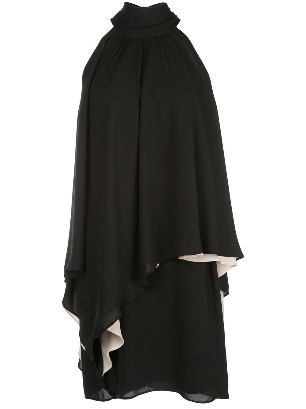 Mock Neck Versatile Dress
