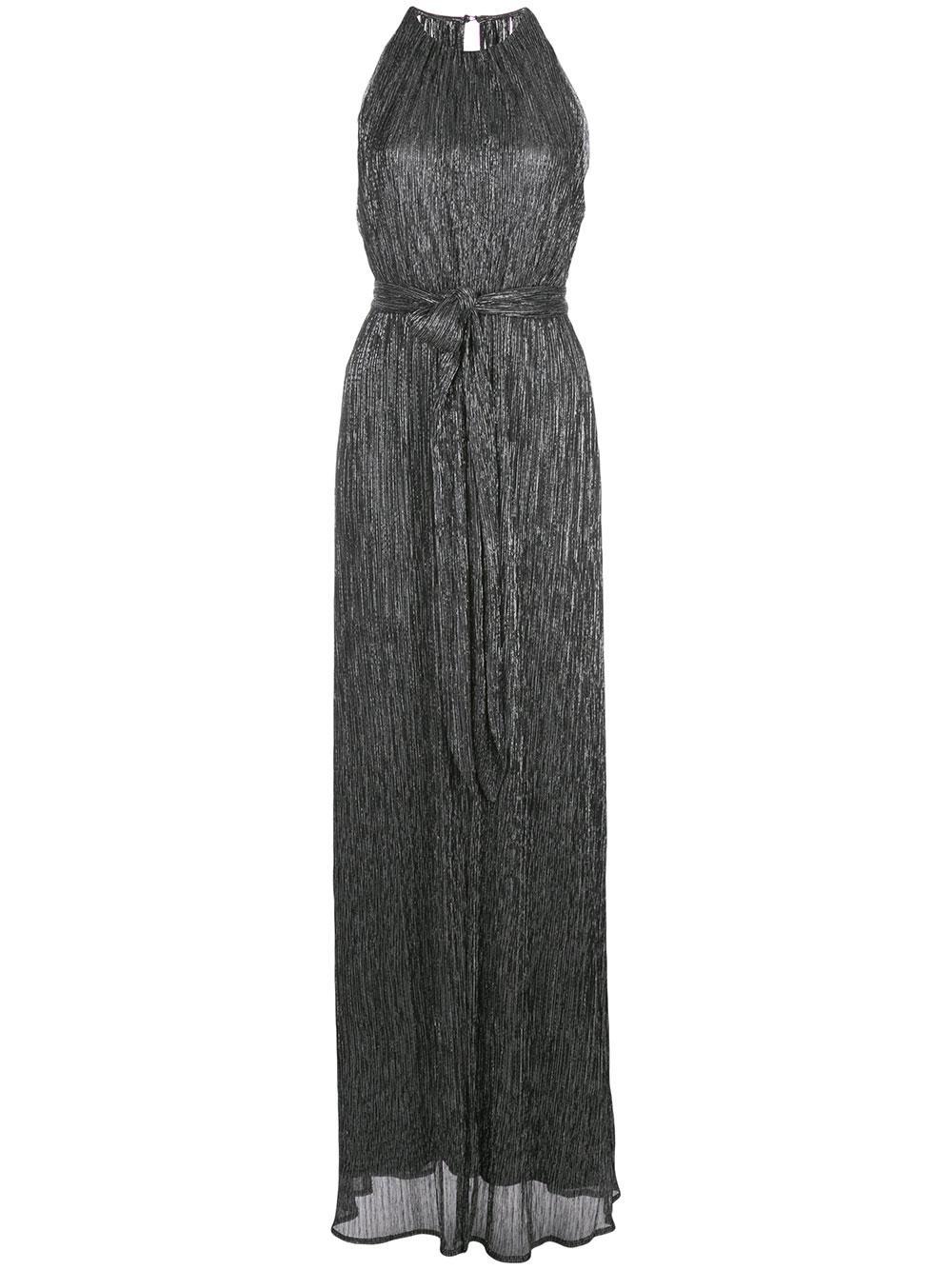Metallic Jersey Gown