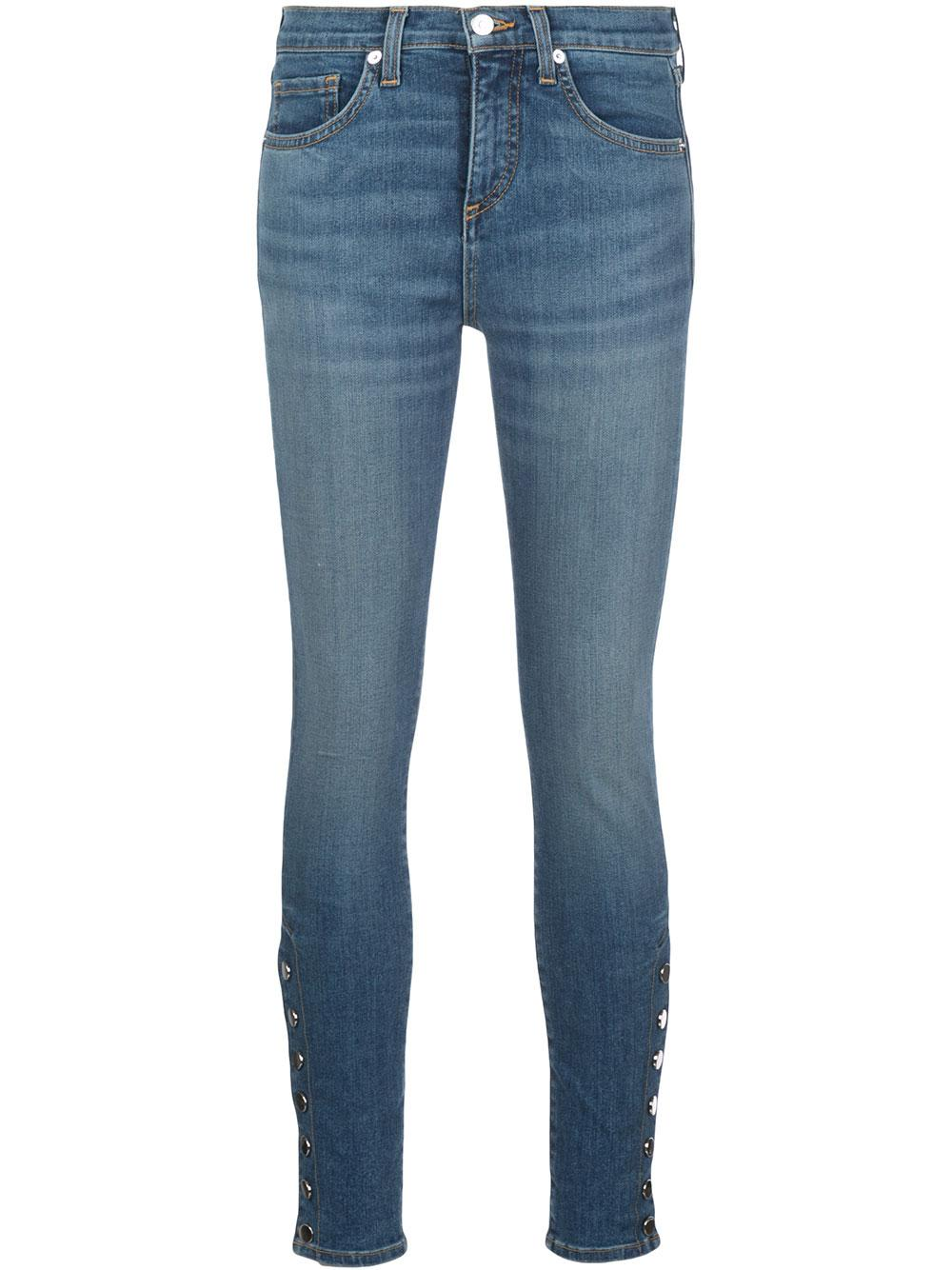 Brooke Mid Rise Skinny With Side Vent