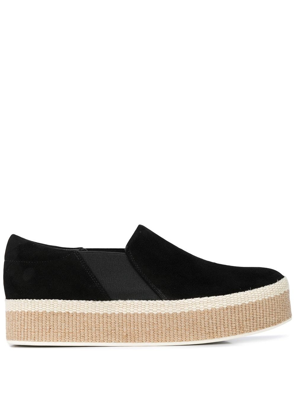 Suede 40MM Platform Slip-On