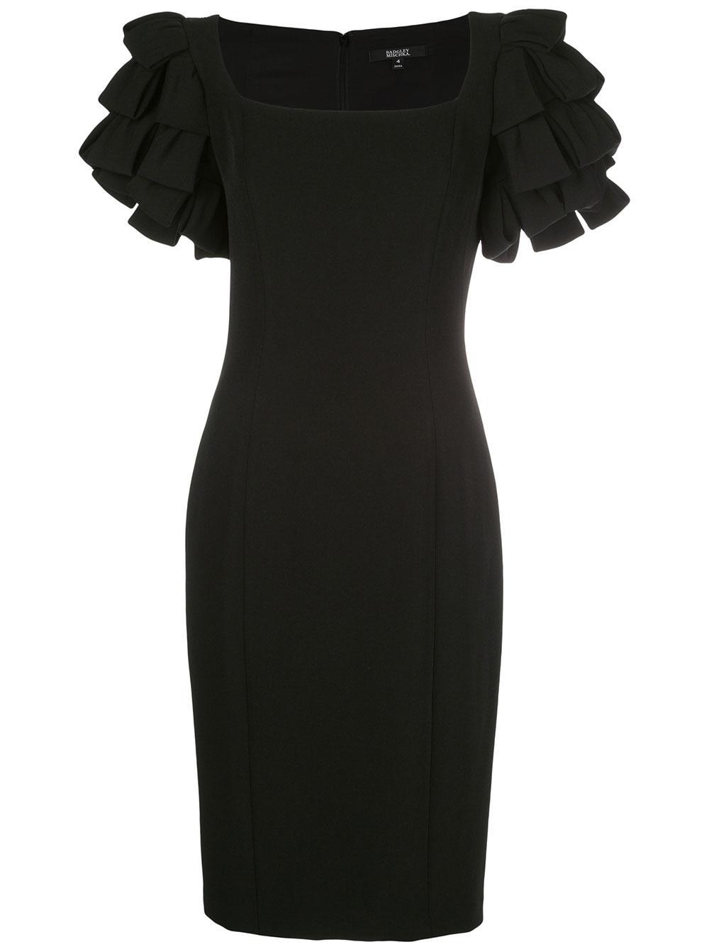 Shoulder Loop Cocktail Dress Item # SC2168