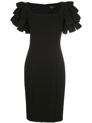 Shoulder Loop Cocktail Dress