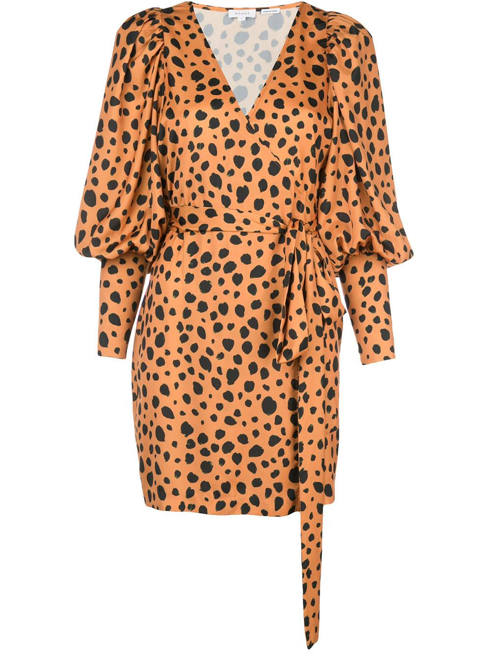 Frankie Printed Wrap Dress