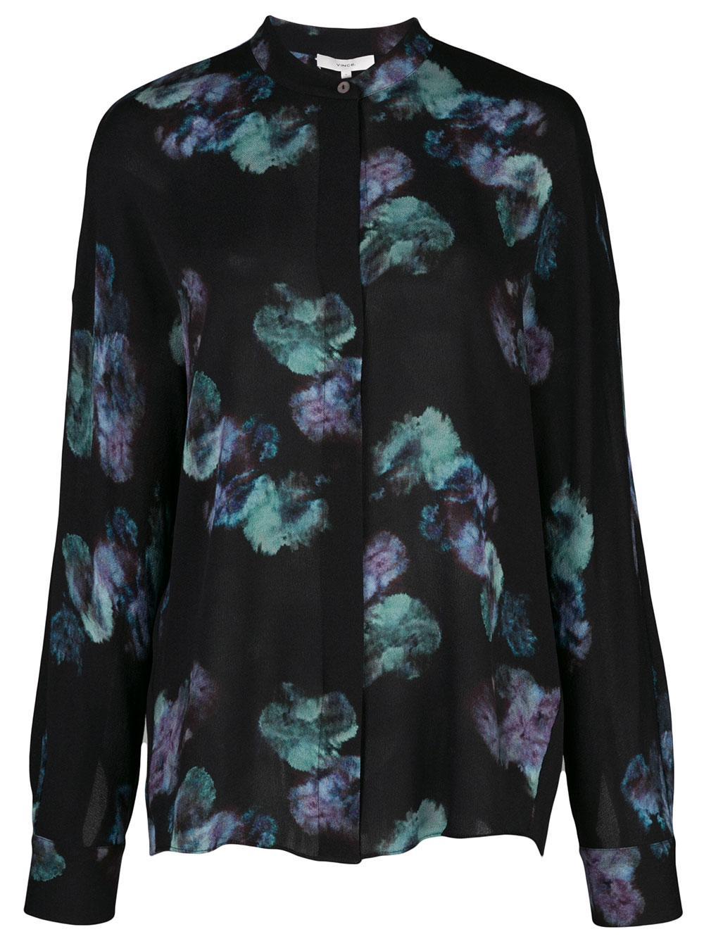 Painted Floral Blouse Item # V630712268