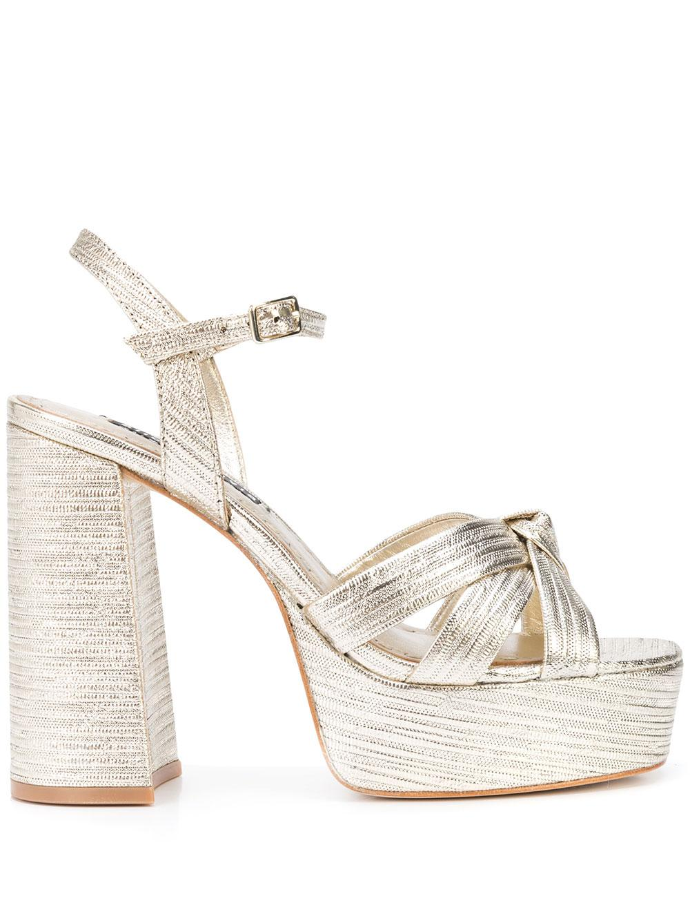 Chunky Platform High Heel Sandal
