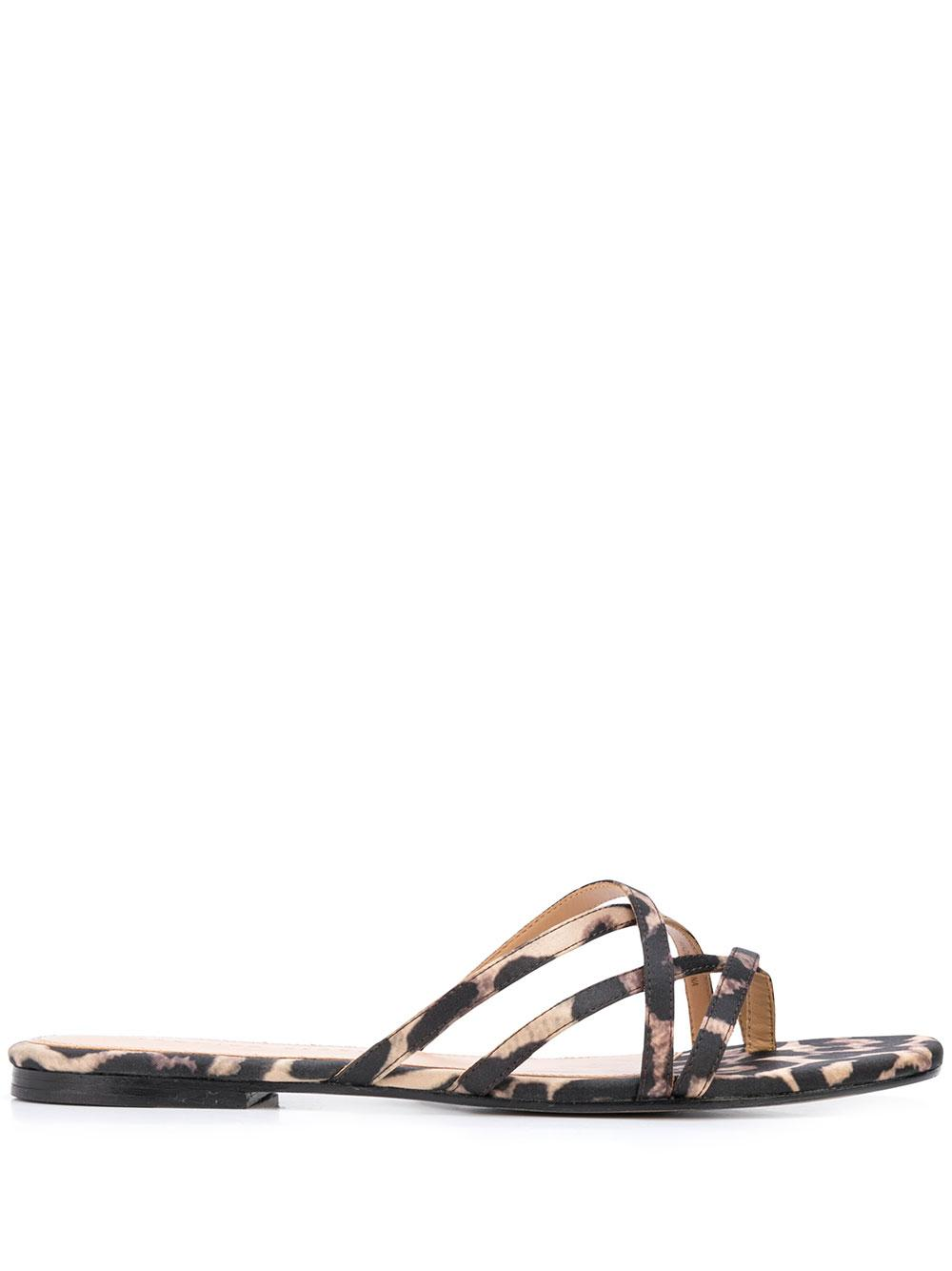 Martha Strappy Slide Sandal