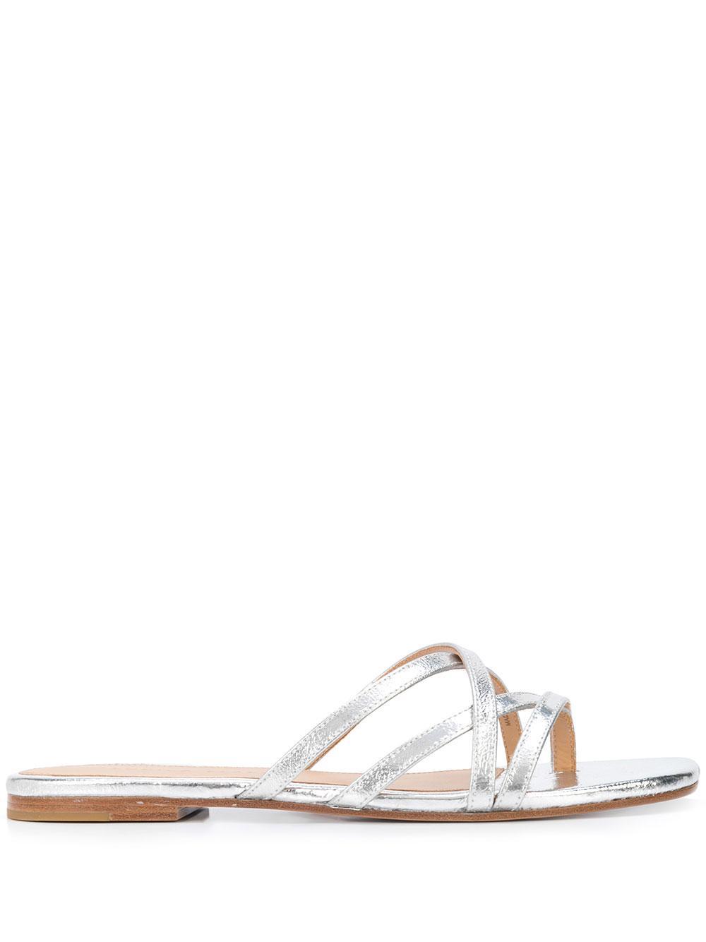 Martha Strappy Slide Sandal