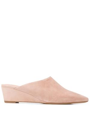 Suede 47MM Wedge Mule