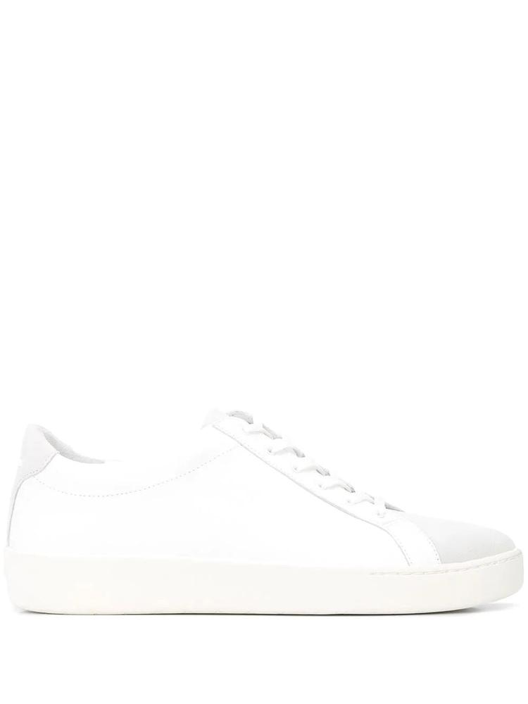 Suede/Leather Lace Up Sneaker