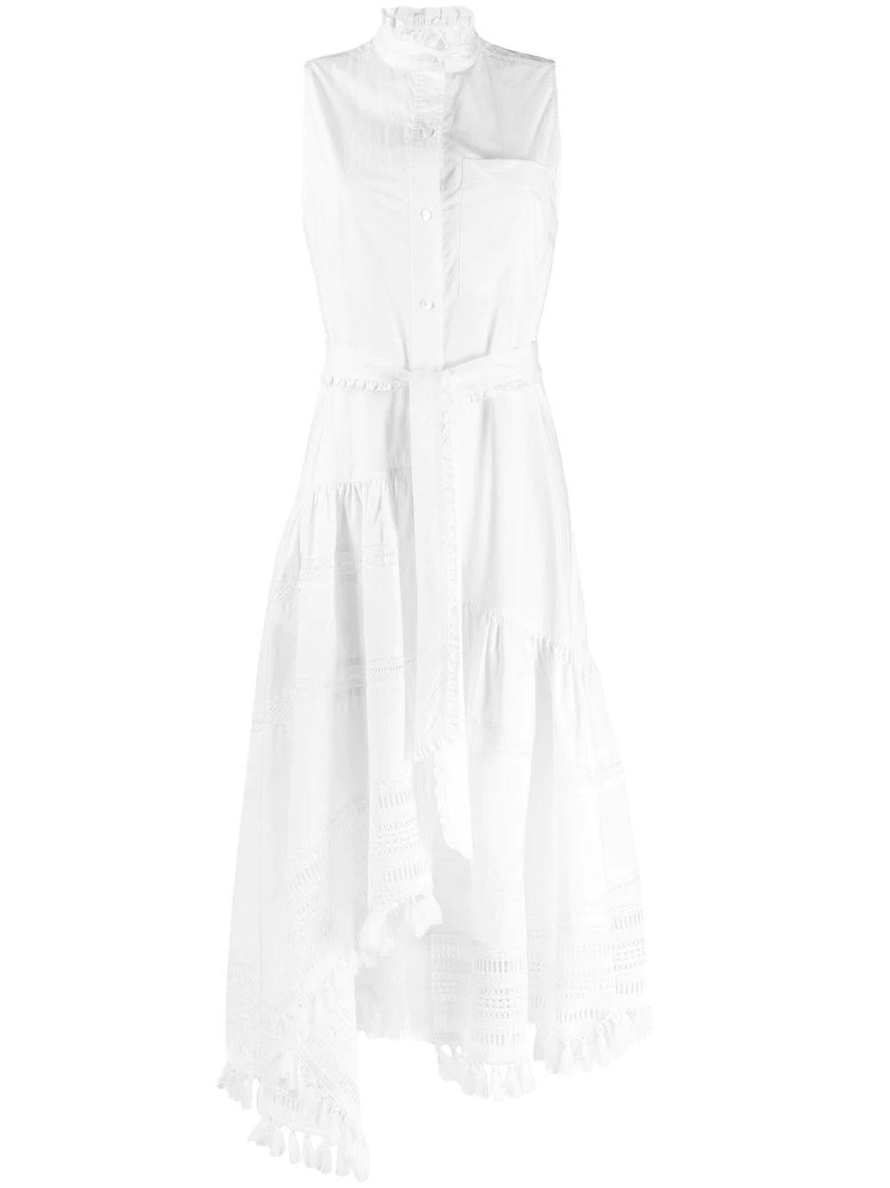Nerioa Lace Inset Maxi Dress