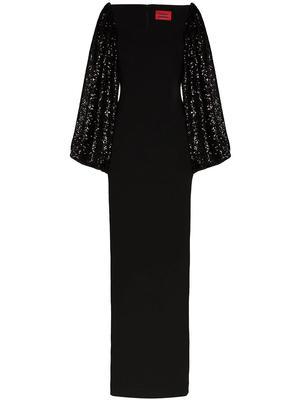 Greta Puff Sleeve Maxi Dress