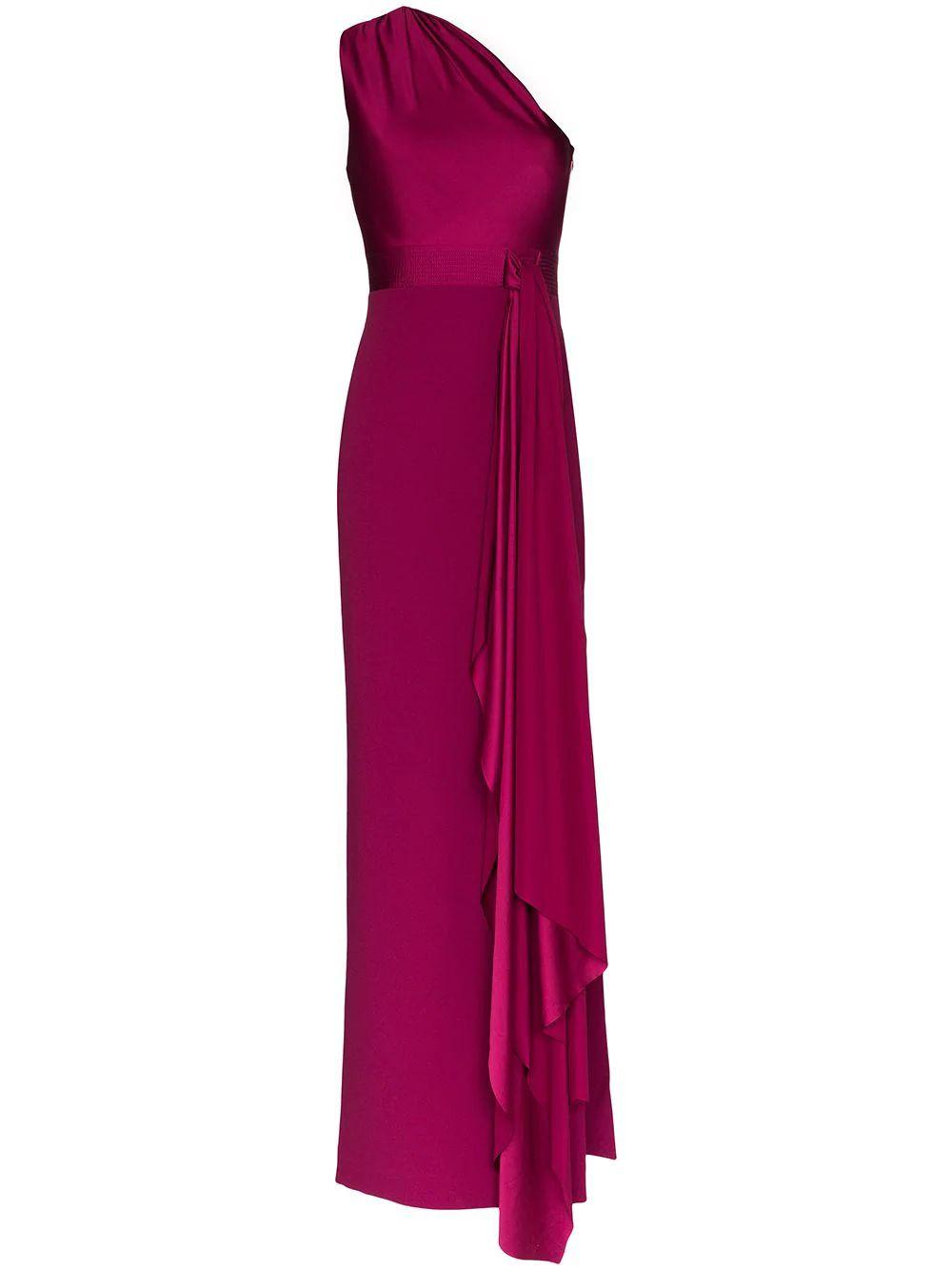 Mara One Shoulder Maxi Dress
