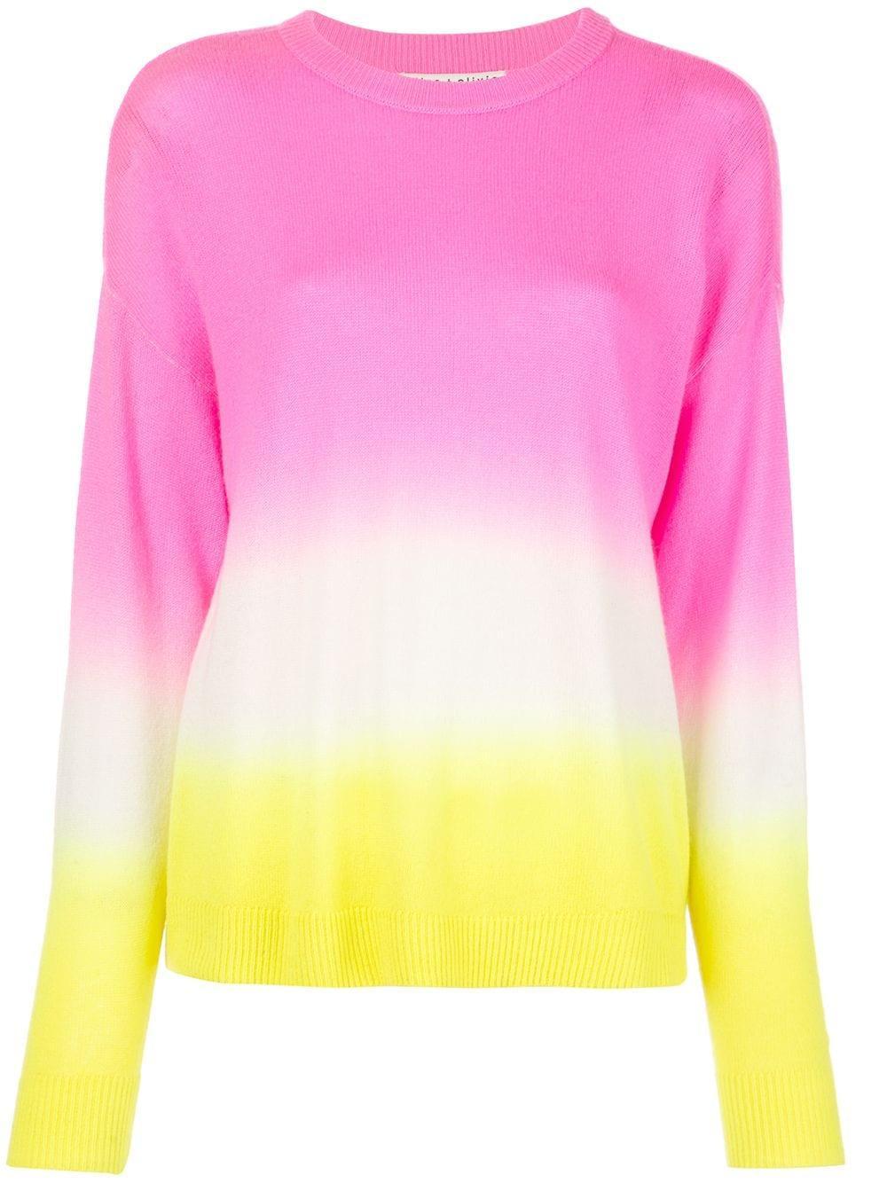 Gleeson Dip Dye Long Sleeve Pullover