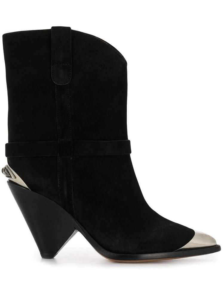 Suede Low Boot