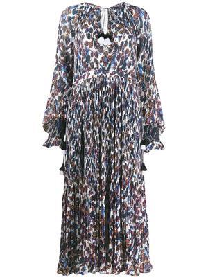 Nemea Pleated Maxi Dress