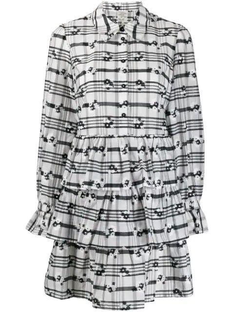 Anya Flower Print Short Dress