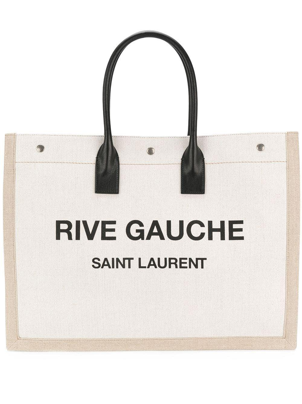Noe Rive Gauce Linen Tote