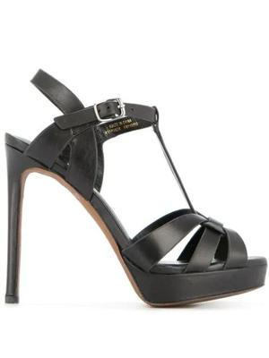 Leather High Heel Sandal