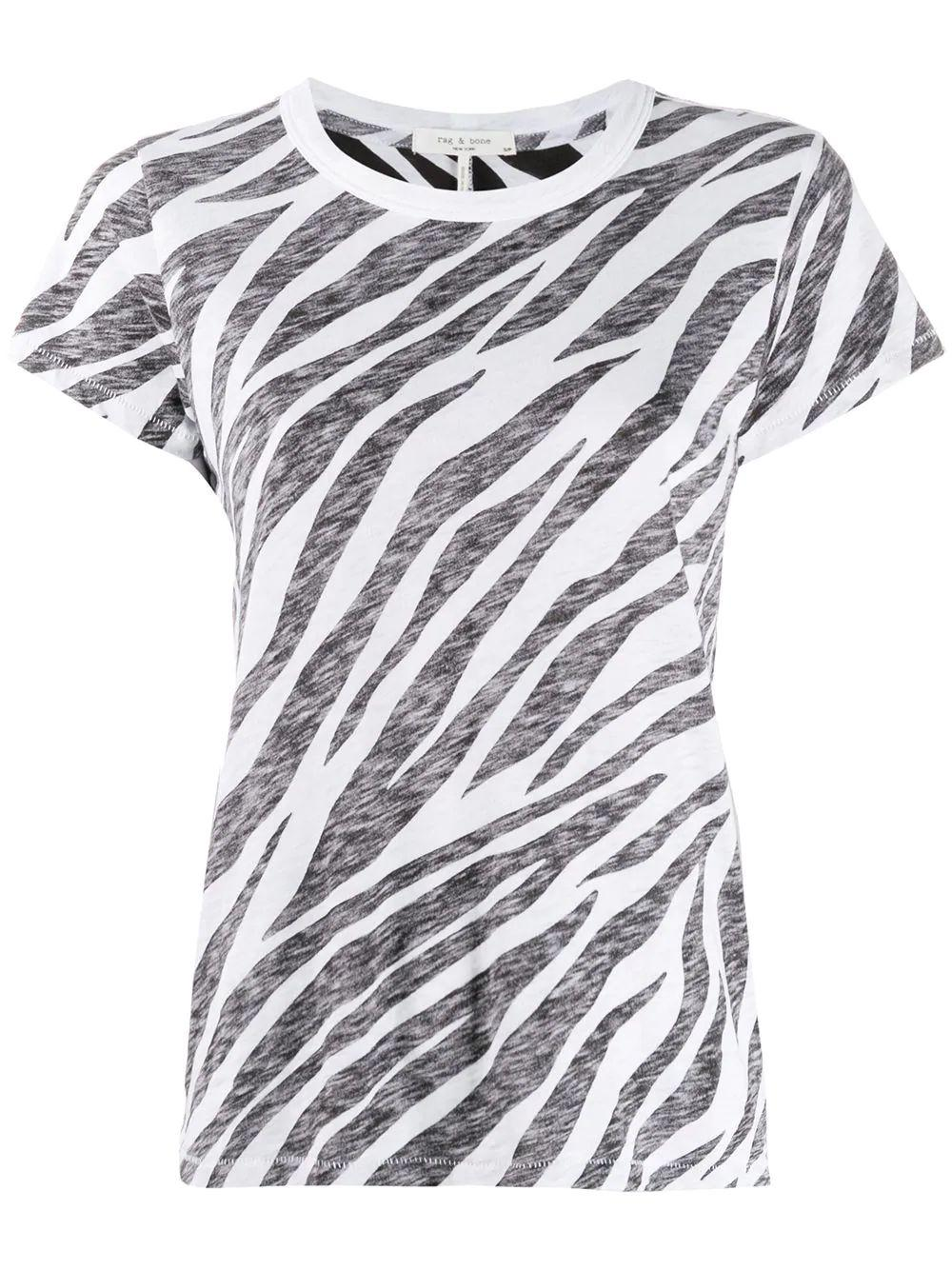 All Over Zebra Tee Item # WCC19HT029CH29