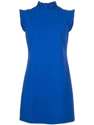 Elsa Ruffle Collar A Line Dress