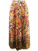 Kim Floral Print Midi Skirt
