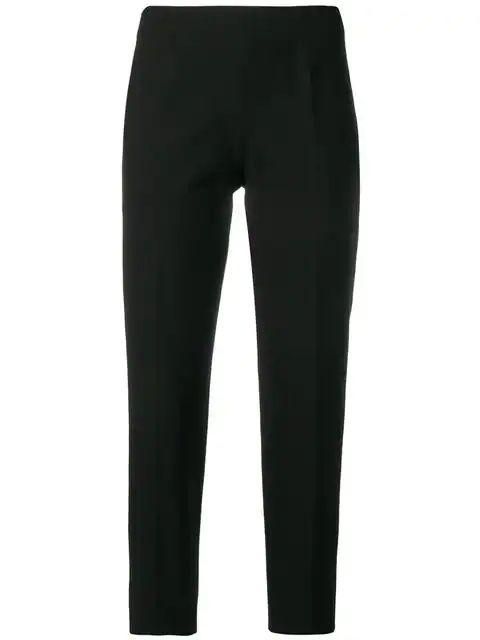 Classic Audrey Stretch Cotton Pant Item # PP315-P0-S0005